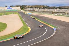 DTM-Rennen in Valencia Stockbild