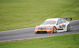 DTM Touring Car - Gary Paffett Royalty Free Stock Images