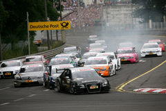 DTMrace START Royalty Free Stock Photography