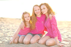 döttrar henne moder två Royaltyfria Foton