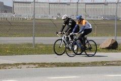 Duńscy rowerzyści Zdjęcia Royalty Free