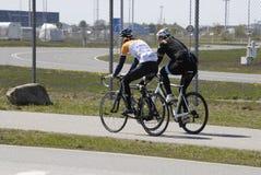 Duńscy rowerzyści Obraz Royalty Free