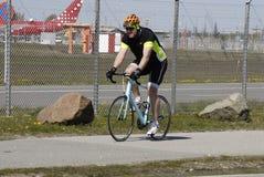 Duńscy rowerzyści Zdjęcie Stock