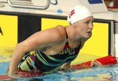 Duńska pływaczka Jeanette Ottesen Obrazy Royalty Free