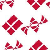 Duński chorągwiany bezszwowy wzór Fotografia Royalty Free