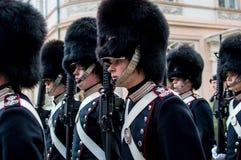 Duński królewski strażnik zdjęcie royalty free