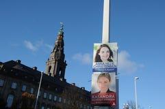 DUŃSKI młodość kandydat DLA rada wyborów Obrazy Royalty Free