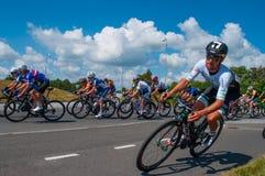 Duński mistrzostwo w drogowy roweru ścigać się zdjęcie royalty free