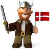 duński Viking royalty ilustracja