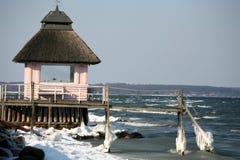duński wybrzeże na wschód Obrazy Royalty Free