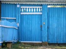 Duża błękitna gouse brama zdjęcie royalty free