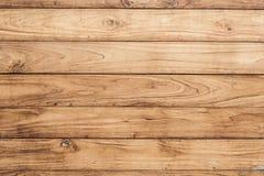 Duża Brown deski drewniana ściana obraz royalty free
