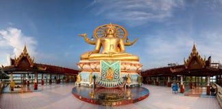 Duża Buddha świątynia Zdjęcia Royalty Free