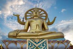 Duża Buddha świątynia w Samui, Wacie - Phra Yai Zdjęcie Royalty Free