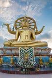 Duża Buddha świątynia w Samui, Wacie - Phra Yai Zdjęcia Stock