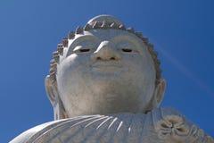 Duża Buddha rzeźby głowa Obrazy Stock
