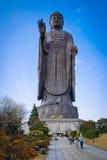 Duża Buddha statua w Japonia zdjęcia royalty free