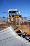 Duża buldożer aktywność Fotografia Stock