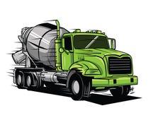 duża ciężarówka Zdjęcie Stock