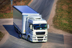 duża ciężarówka Obrazy Royalty Free