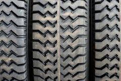 Duża ciężarówka lub ciągnikowy koło obrazy stock