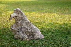 Duża dekoracyjna skała Fotografia Stock