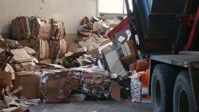 Duża fabryka Dla Przetwarzać papier i Carboard zbiory