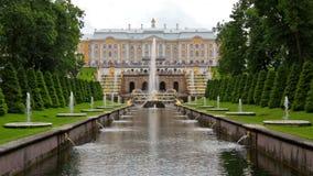 Duża fontanna w Peterhof zbiory