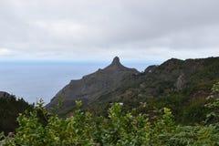 Duża góra przy Mirador Fuente De Lomo w Taborno w północy Tenerife, Europa fotografia royalty free