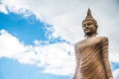Duża Kamienna statua Buddha fotografia royalty free