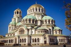 Duża katedra w Sofia zdjęcia stock