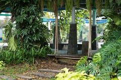 Duża kołyska w parku obraz royalty free