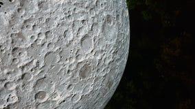 Duża księżyc rzeźba obrazy stock