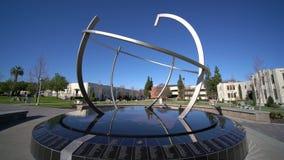 Duża kuli ziemskiej piłka w Loma Linda uniwersytecie zbiory wideo