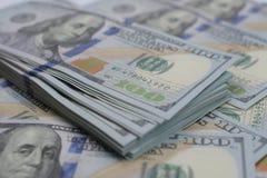 Duża kwota pieniądze USA dolar dla pieniężnego i biznesowego pojęcia jak obrazy stock