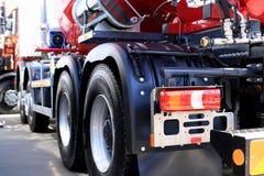 Duża nowa ciężarówka zdjęcie stock