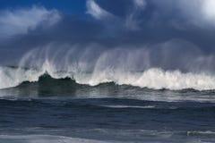 Duża ocean fala Zdjęcie Stock