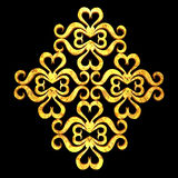 Duża ornamentu elementu grunge drewna tekstura Zdjęcie Royalty Free