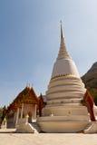 Duża pagoda i tajlandzki kościół Zdjęcia Royalty Free