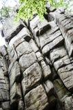 Duża pięcie ściana w Rudawy Janowickie, Polska Zdjęcia Royalty Free