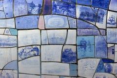 Duża rybia rzeźba Zdjęcie Royalty Free