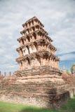 Duża stara świątynia i piękny tło Obrazy Royalty Free