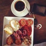 duże śniadanie Obrazy Royalty Free