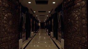 Duże bramy Zima pałac wnętrze galeria sztuki Muzealny wnętrze Podziemna bazyliki spłuczka w Istanbuł Obraz Stock