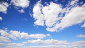 Duże chmury na niebie zbiory