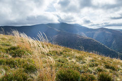 duże krajobrazowe halne góry Zdjęcie Stock