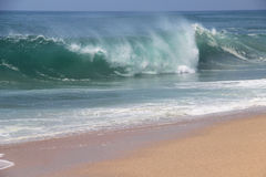 Duże ocean fala Fotografia Royalty Free