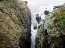 Duże skały w górze Putuo Obrazy Stock