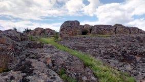 Duże skały wielki jar Zdjęcie Royalty Free