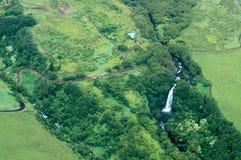 duże wyspy powietrzne strzału wodospadu Obraz Stock